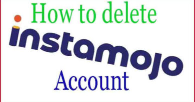 How To Delete Instamojo Account Easily In Few Minutes
